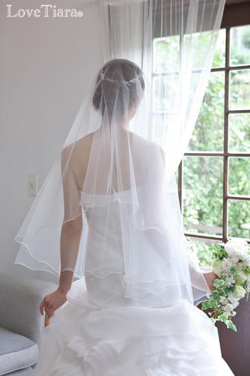 結婚式 ブライダル ウェディング ヘッドドレス リーフ 葉 ボタニカル ナチュラル バックカチューシャ