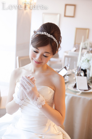 カチューム カチューシャ ウェディング 結婚式