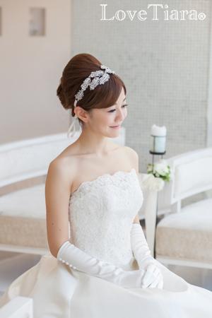 カチューム リボンカチューシャ ウェディング 結婚式
