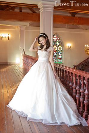 カチューシャ ウェディング 結婚式
