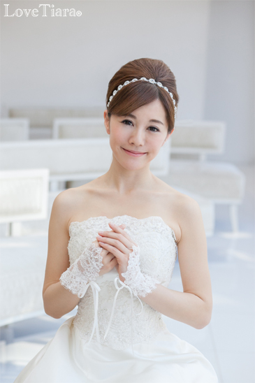 リボンカチューシャ カチューム カチューシャ ブライダル ウェディング 結婚式