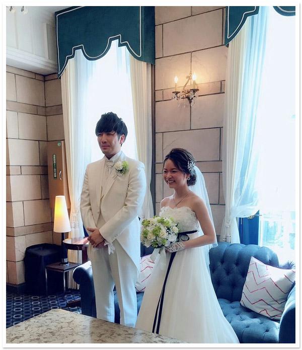 花嫁様お写真【ヘッドドレス【リリー】/フィンガーレスグローブ【フローレット】】